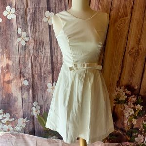 NWT Lulu's cream colored dress size XS